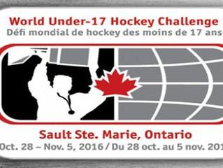 2016 World Under 17 Hockey Challenge in Sault Ste. Marie