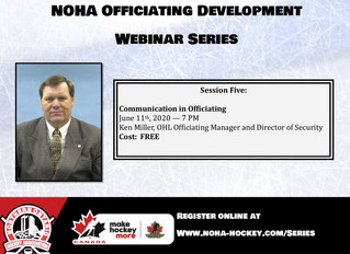 NOHA Officiating Development Series - Ken Miller