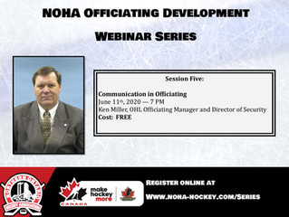 NOHA Officiating Development Series - Ken Miller