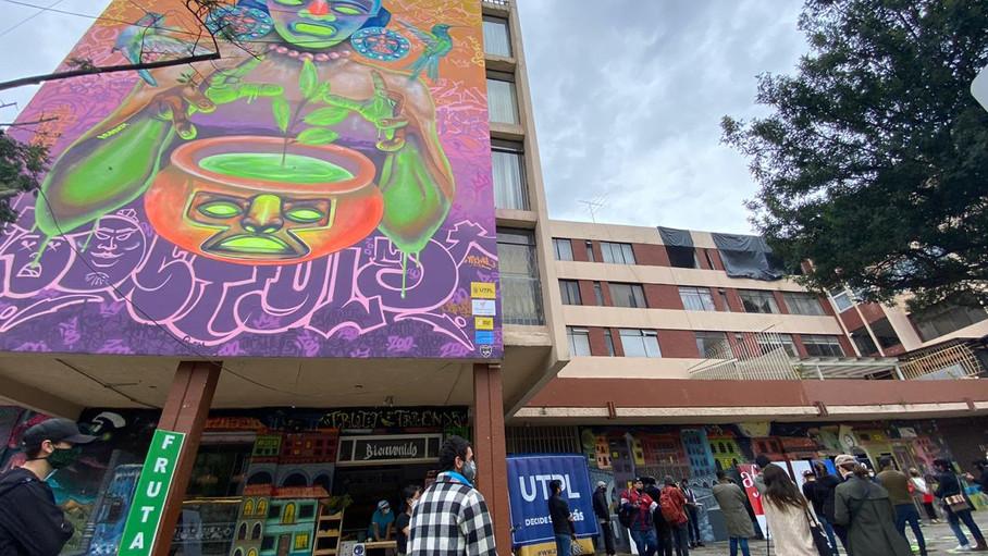 """""""La Ruta de los Murales: Arte Urbano Cuenca"""", otra opción para disfrutar de la ciudad"""