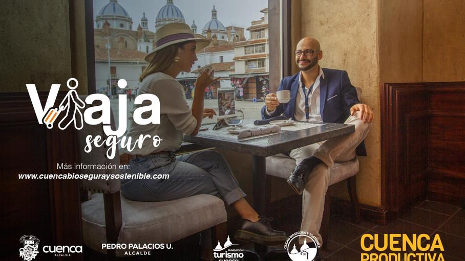 """Campaña """"Viaja Seguro en Cuenca"""" promueve consumo de servicios turísticos registrados"""