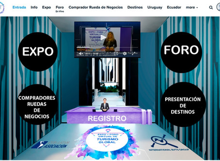 "Cuenca presente en ""Expo + Foro Virtual de Turismo Global"""