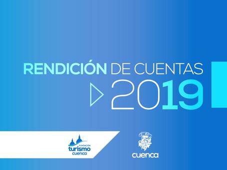 En el año 2019 la Fundación de Turismo ha cumplido varias acciones en beneficio del Destino Cuenca