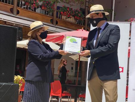 """Cuenca recibe con orgullo el sello """"Safe Travels"""""""