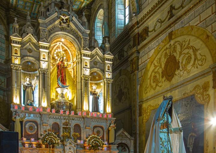"""Cuenca celebró 87 años de la Coronación de la """"Virgen Morenica del Rosario"""" como su Reina"""