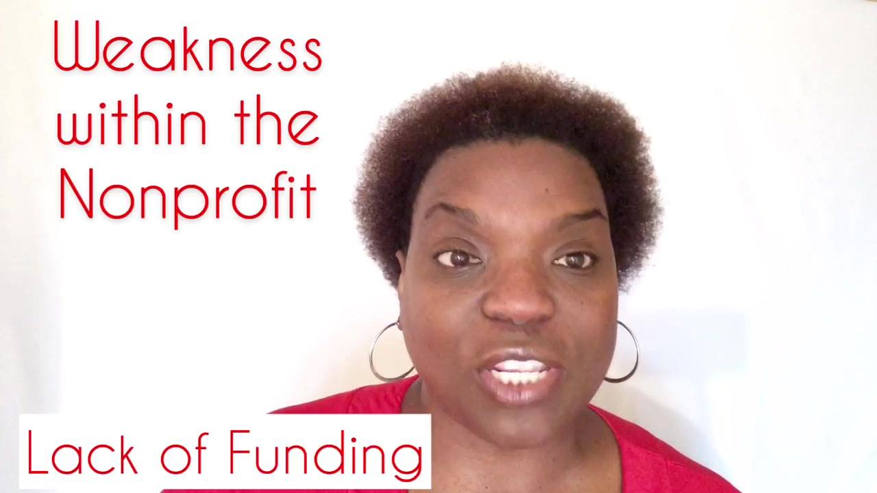 What is your nonprofit organization's weakness?    More than likely it is fund development.    Have you thought about creating a diverse funding pool?  #TheNonprofitMinute  #Develop2019  #Develop2019  #FilltheKnowledgeGap