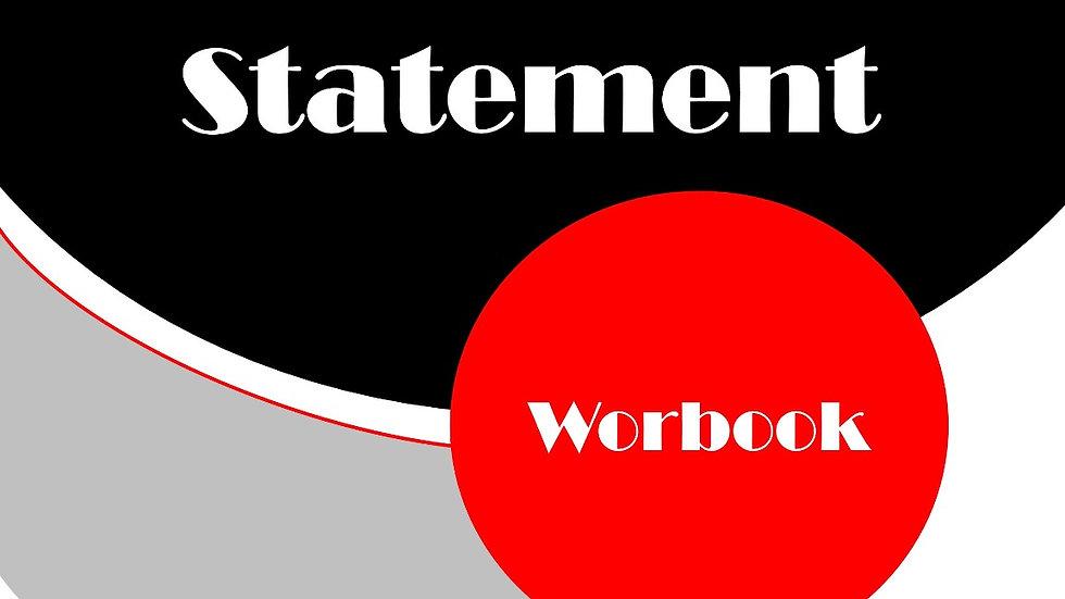 Needs Assessment Statement Workbook