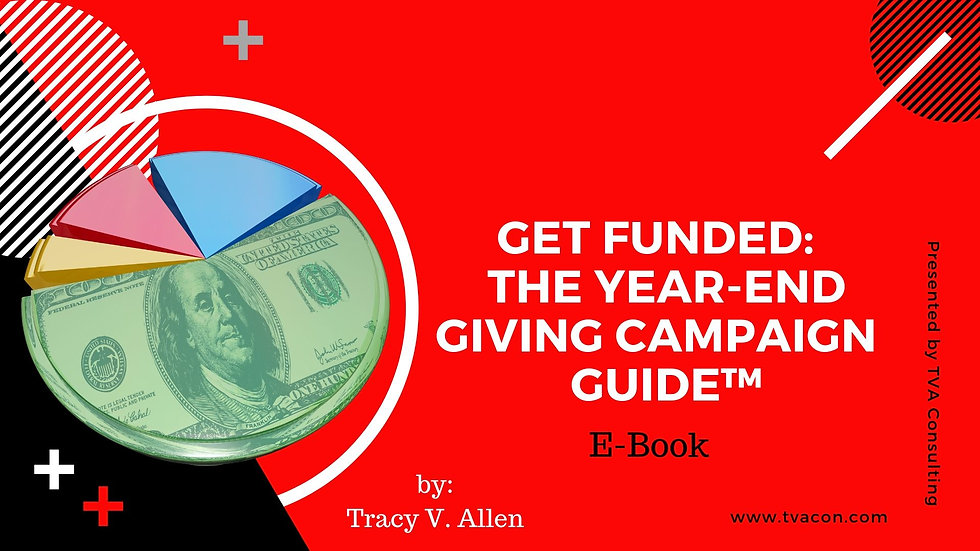 Get Funded: The Year-End Giving Campaign Guide™ - E-Book