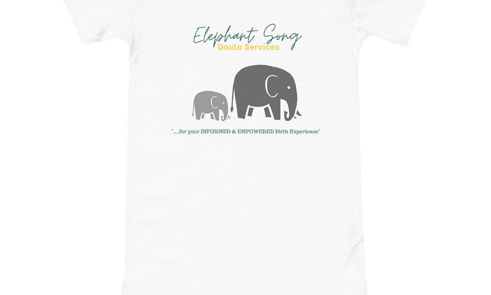 """""""Elephant Song Doulas"""" Onesie"""
