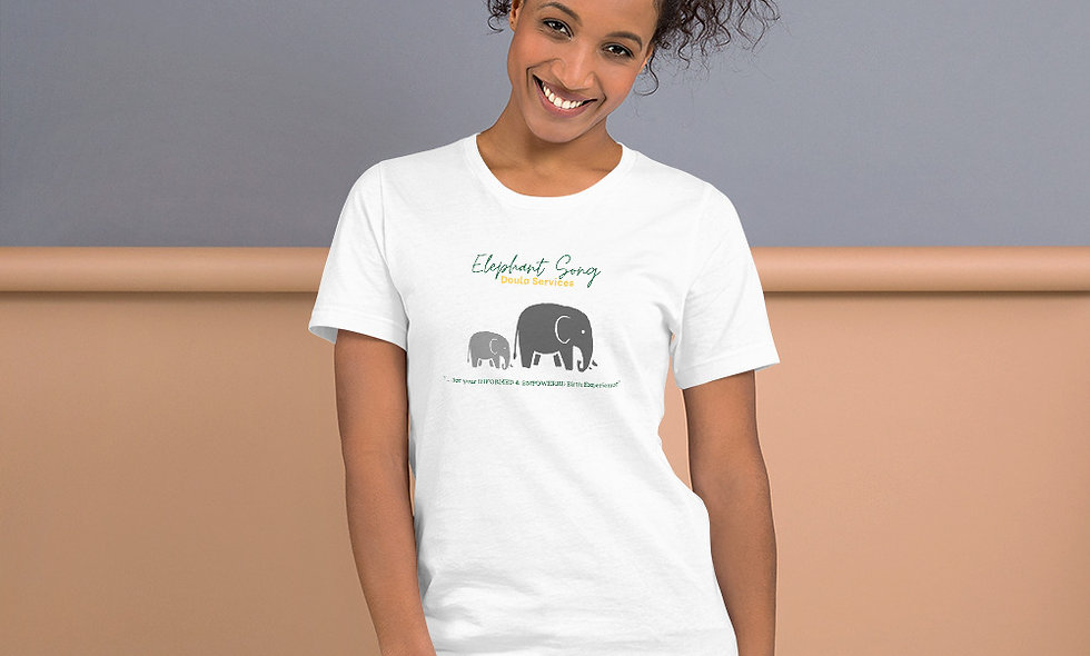 """Elephant Song Doulas"" Unisex T-Shirt"