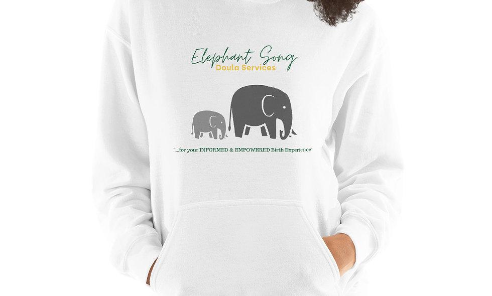 """Elephant Song Doulas"" Unisex Hoodie"