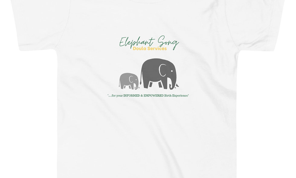 """""""Elephant Song Doulas"""" Toddler T-Shirt"""