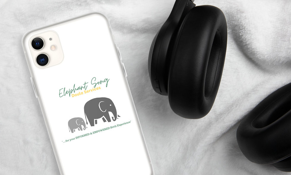"""""""Elephant Song Doulas"""" iPhone Case"""
