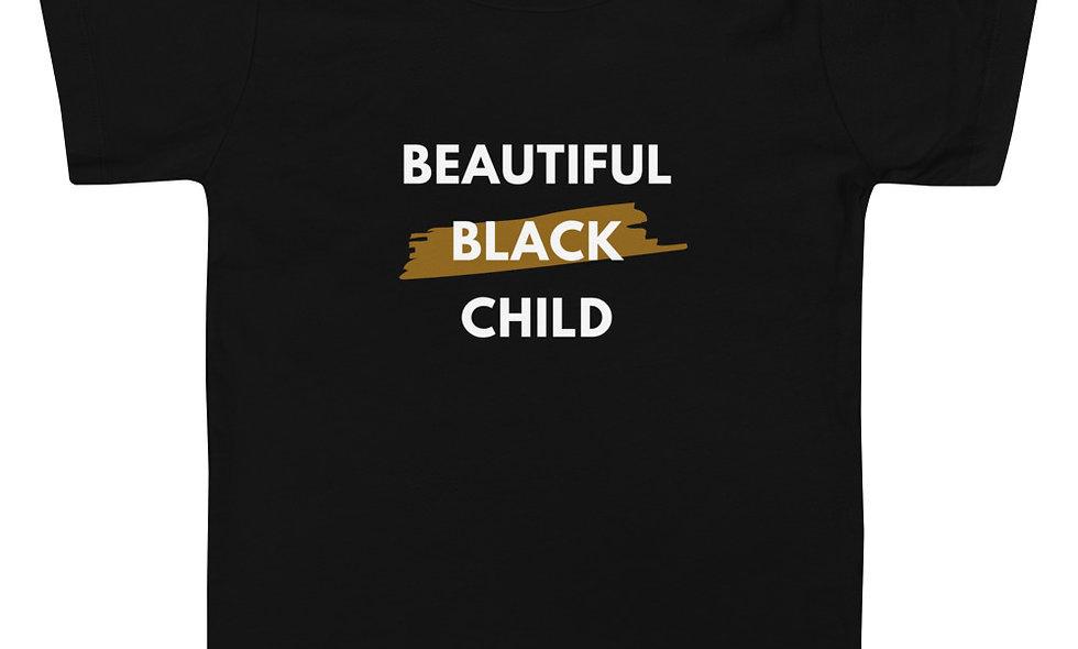 """Beautiful Black Child"" (Toddler) Short-Sleeve T-Shirt"