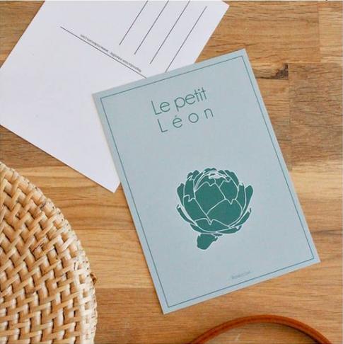 carte postale Petit Léon Roskocom