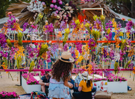 Pizzantica Feed the Masses: Toowoomba Carnival of Flowers