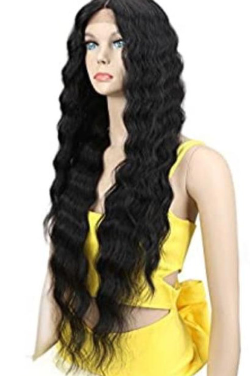 30''   WAVY HAIR LACE FRONT WIG