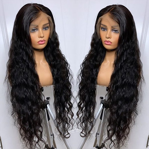 360 LACE NATURAL WATER WAVE FRONT WIG
