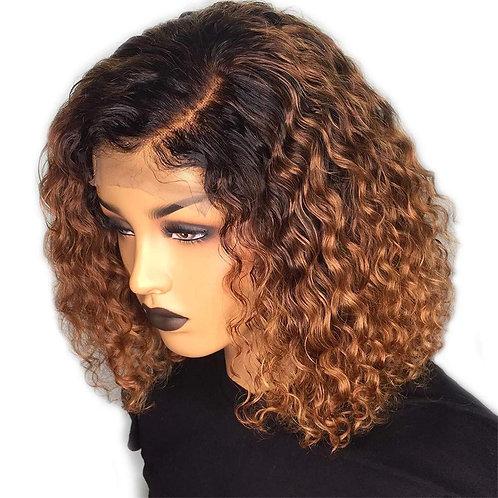 HONEY GIRL WET N WAVY 100% HUMAN HAIR LACE WIG