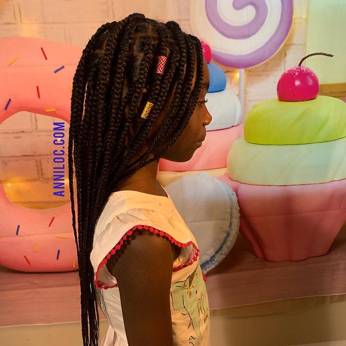 kids box braids