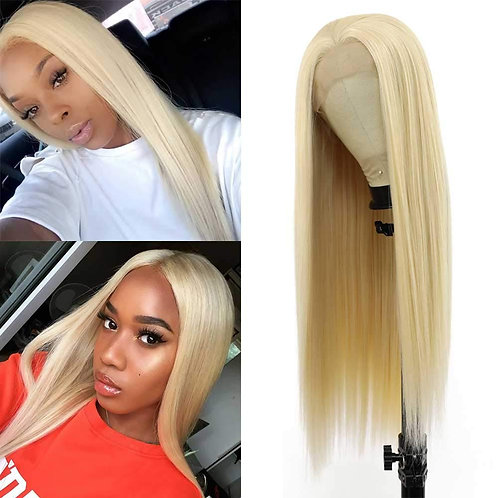 BARBIE GIRL BLOND STRAIGHT LACE FRONT WIG