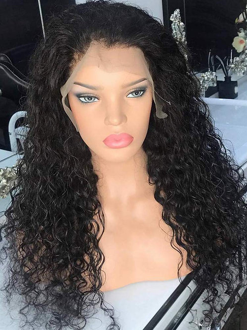 """24"""" REAL LOOKING - CURLY - LACE FRONT WIG"""