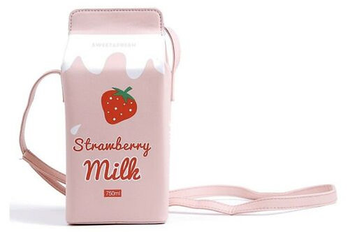 "'STRAWBERRY MILK"" PURSE"