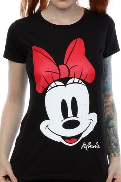 Minnie Mouse Face Tshirt