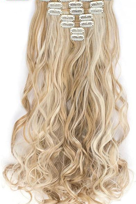 """20"""" LONG BODY WAVE CLIP INS"""