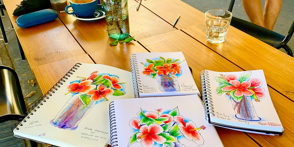 Watercolour Sketching with Erin Hill