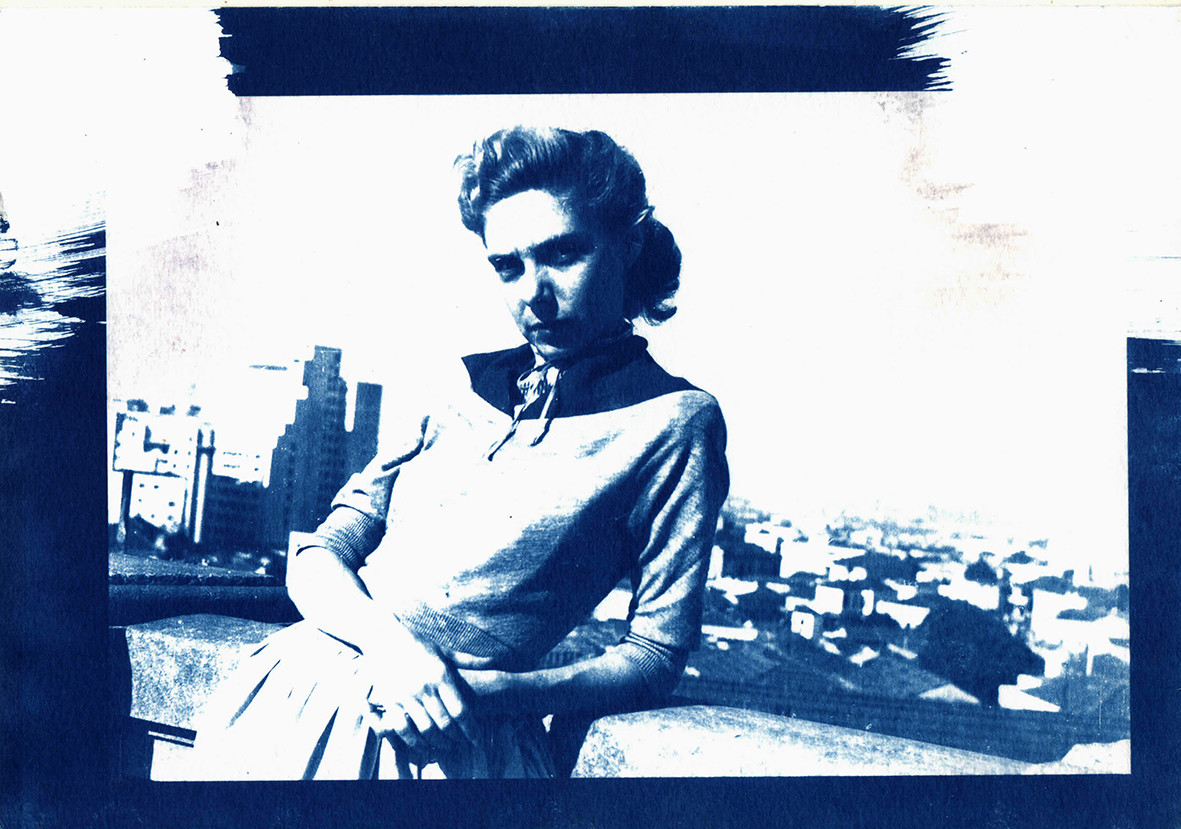 Cianótipo - Roberta Stubbs