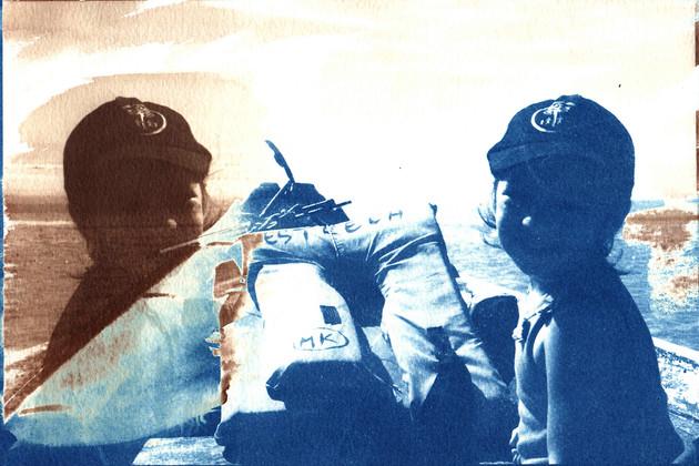Cianotipo + Van Dyke - Mireille Pic