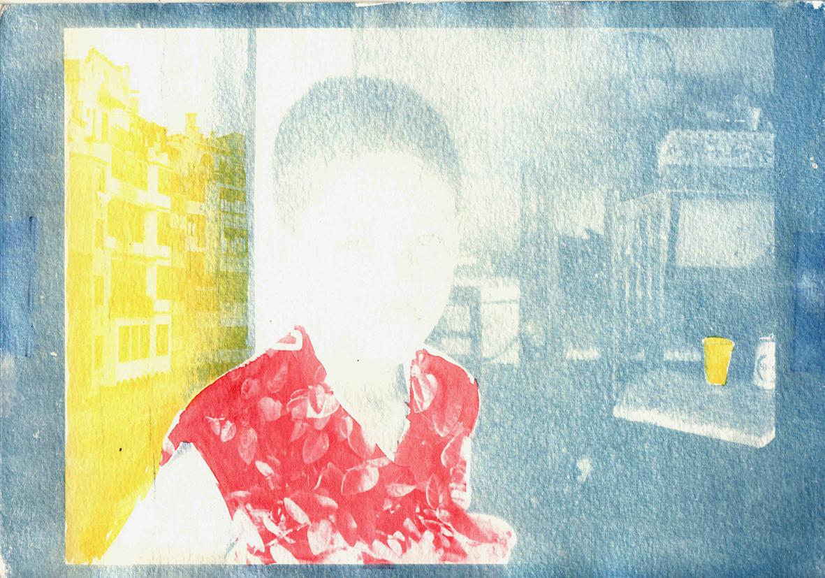 Cianotipo + Goma - Mireille Pic