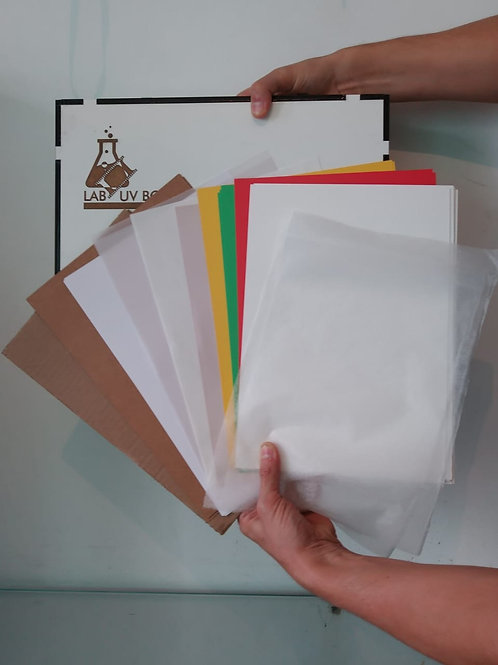 Kit Papéis Diversos - Exclusivo para Alunos