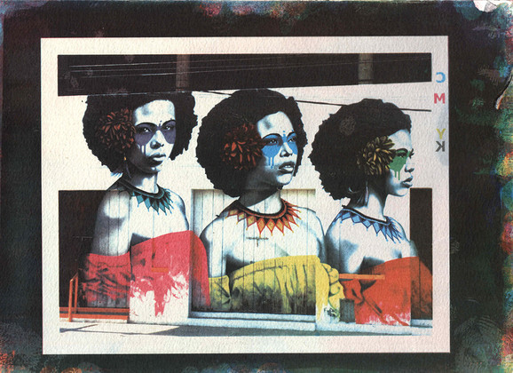 Goma 4 cores - Marcia Furriel