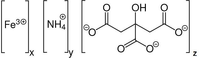 Formula Molecular do Citrato