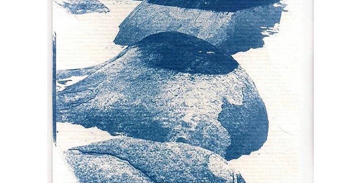 Cianótipo sobre papel aquarela