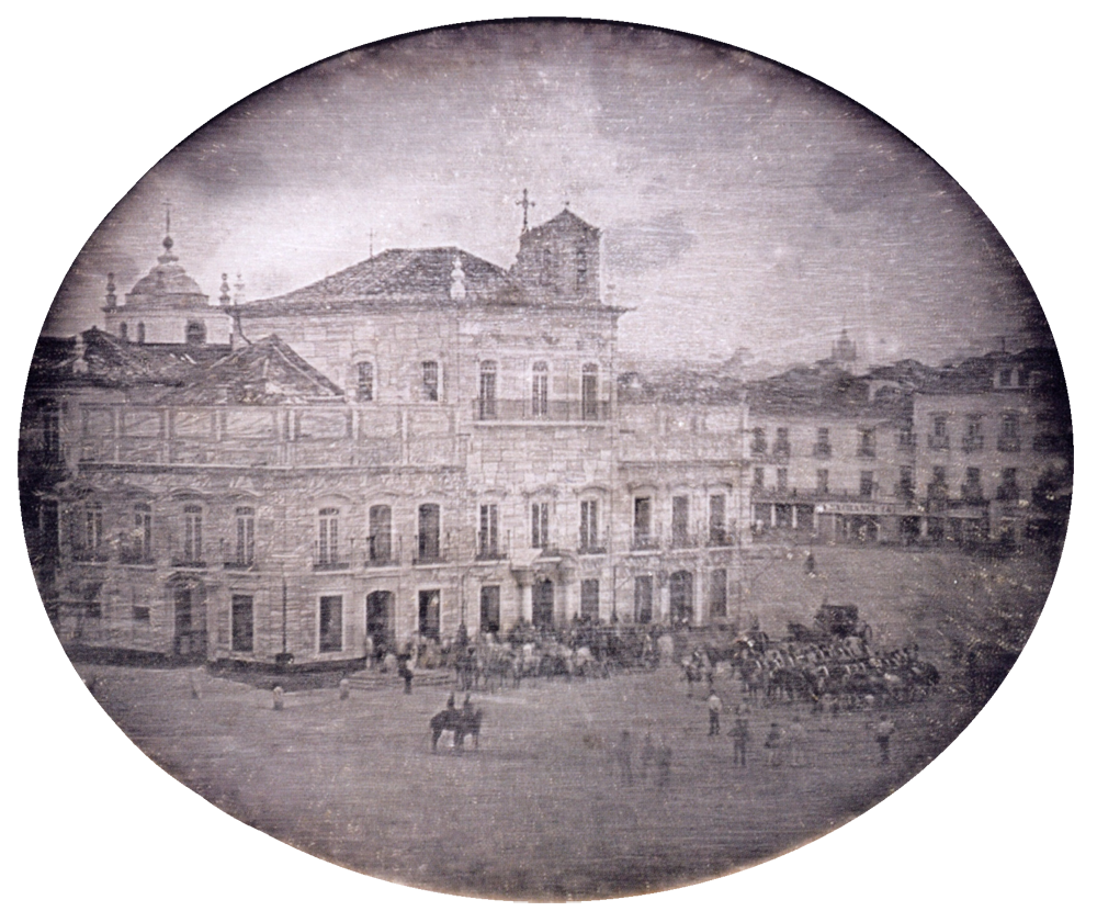Primeiro Daguerreótipo no Brasil - Paço Imperial - Luis Compte