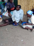 Disabled adults at our feeding programme