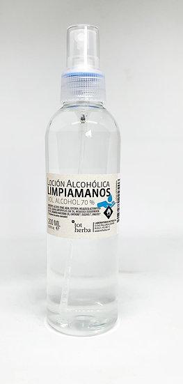 Loción Alcohólica Limpiamanos 200 ml Spray