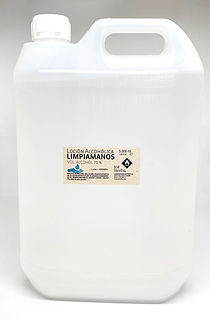 LocionAlcoholica 5 L Garrafa Retornable.