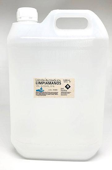 Loción Alcohólica Limpiamanos 5 litros