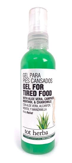 Gel Pies Cansados de Aloe Vera 100 ml