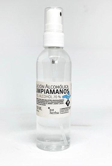 Loción Alcohólica Limpiamanos 100 ml spray