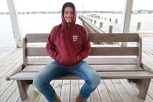 Pull Over Hoodie (40th) - Medium Only