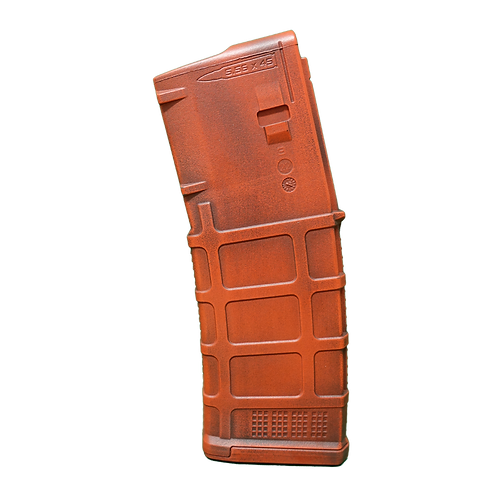 Battle-Worn PMAG - Blood Red