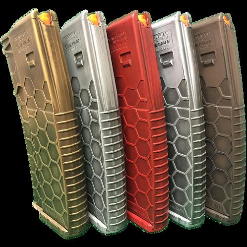 Metallic Series Battle-Worn Hexmag 5-Pack
