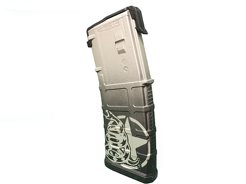 """""""Don't Tread On Me"""" PMAG Series (Sniper Grey)"""