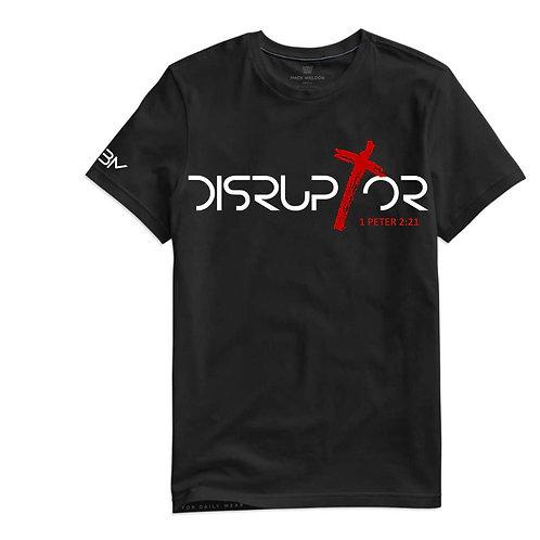 Black Disruptor DISSOLVE Unisex T-Shirt
