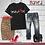 Thumbnail: Black Disruptor DISSOLVE Unisex T-Shirt